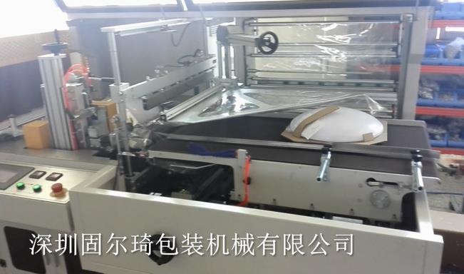 包膜热收缩机案例—灯具行业包装和运输最好的方式