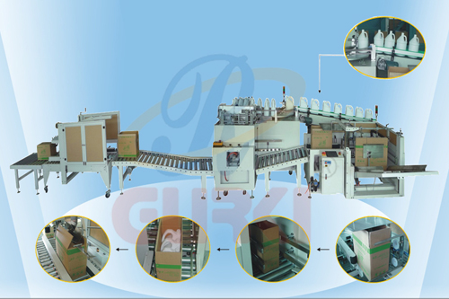 藥品自動包裝流水線廠家 醫藥包裝視頻