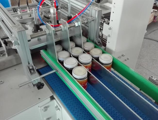 自动酱菜包装机 辣椒酱热收缩膜包装机